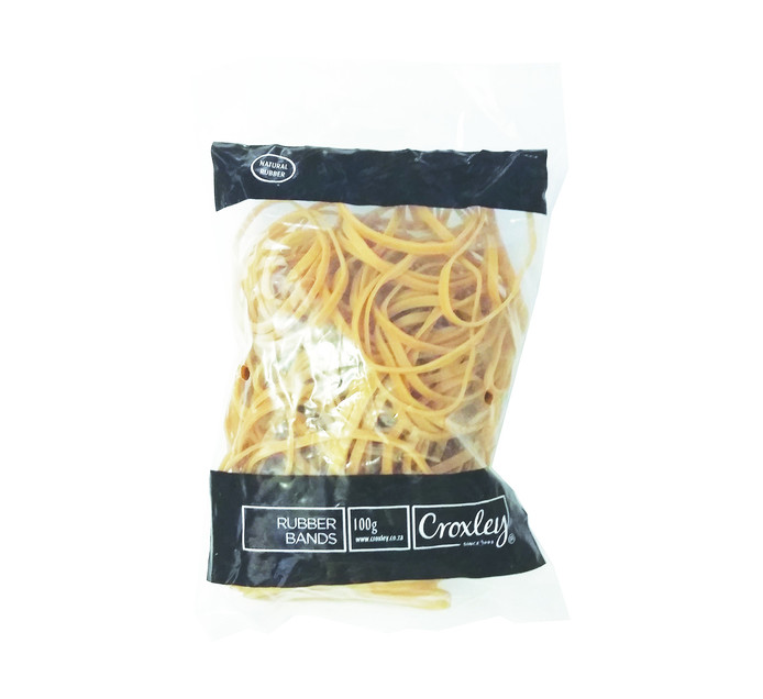 CROXLEY 100-Pieces Rubber Bands