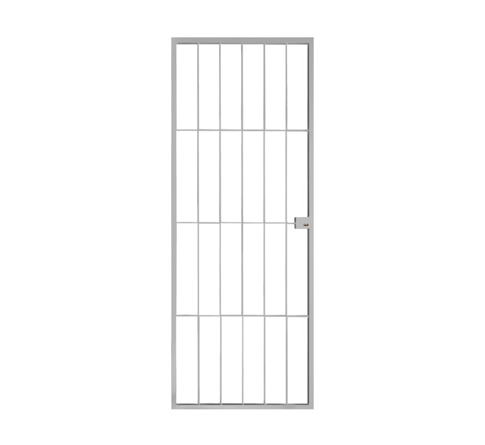 XPANDA 770 x 1950 mm Econo Lock Gate White