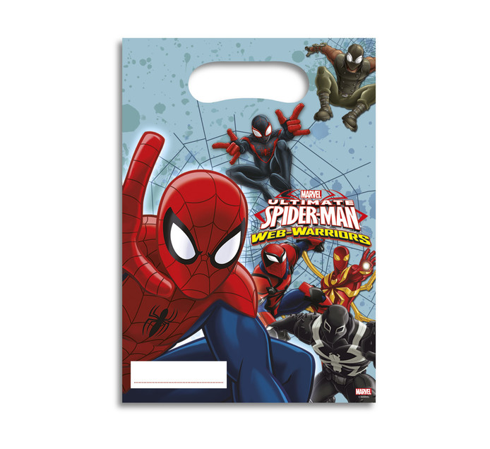 SPIDERMAN 6 Party Bags