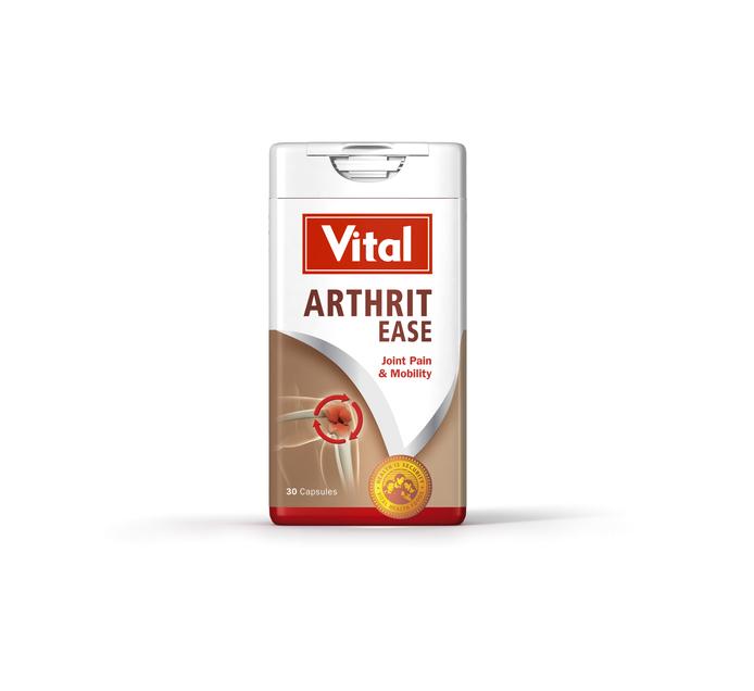 VITAL ARTHRIT EASE CAPSULES 30'S