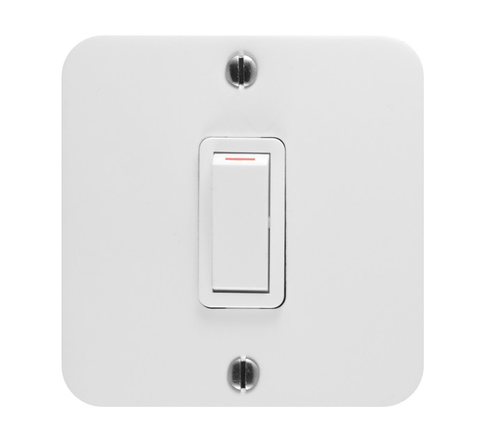 CRABTREE 1 Lever 1 Way Surface Switch