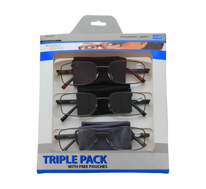 Instant Optics Triple Pack 3 - 2.50