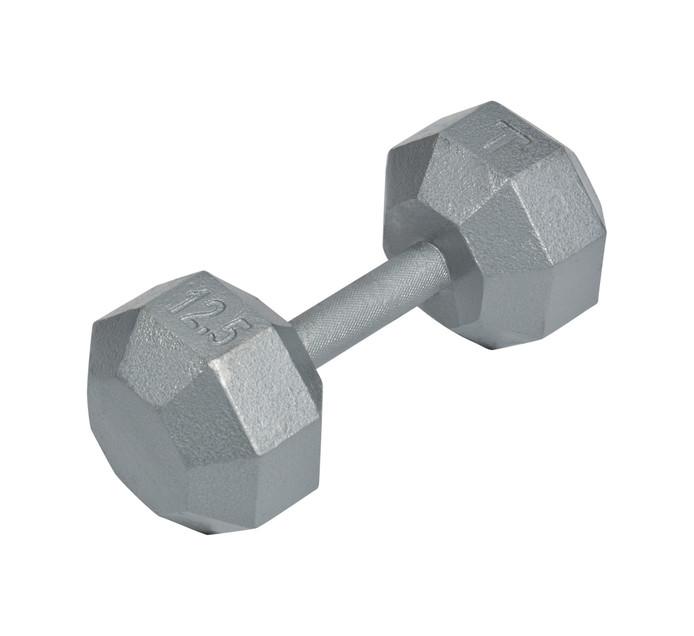 TROJAN 12.5 kg Solid Dumbbell