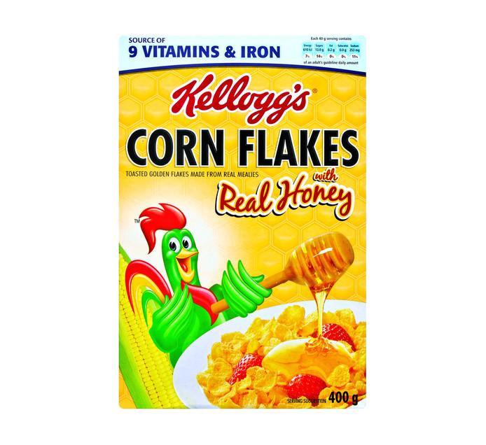 KELLOGG'S Corn Flakes in Honey (1 x 400g)
