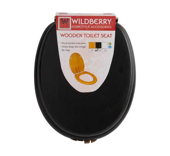 WILDBERRY Wooden Toilet Seat