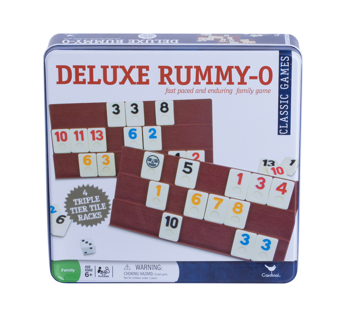 Rummy Tower Game