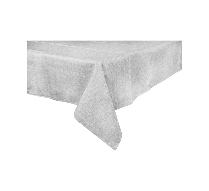 LINEN HOUSE 150 cm x 275 cm Driftwood Tablecloth
