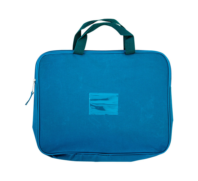 KENZEL A4 Book Bag With Handle Teal Each