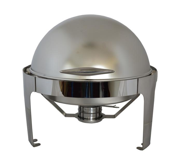 STEELKING 6.8l Saturn Matt Round Chafing Dish