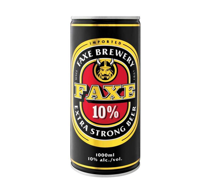 FAXE Extra Strong Beer (1 x 1L)