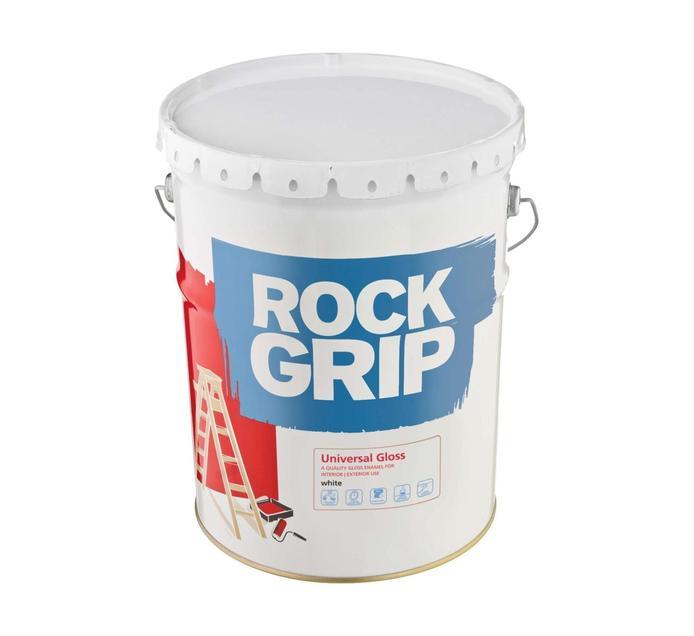 ROCKGRIP GLOSS ENAMEL WHITE 20L
