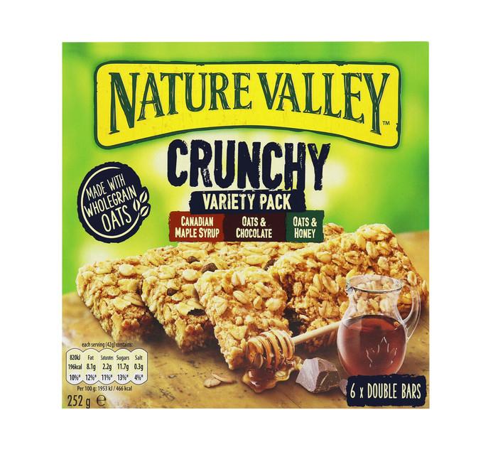NATURE VALLEY Granola Bars Variety Pack (6 x 42g)