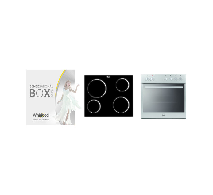 WHIRLPOOL 600 mm Oven and Hob Box Set