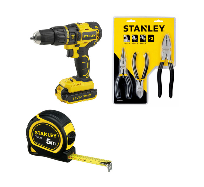 STANLEY 18V Stanley Li-Ion Brusless Drill