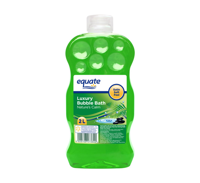 EQUATE 1 x 2lt Bubble Bath
