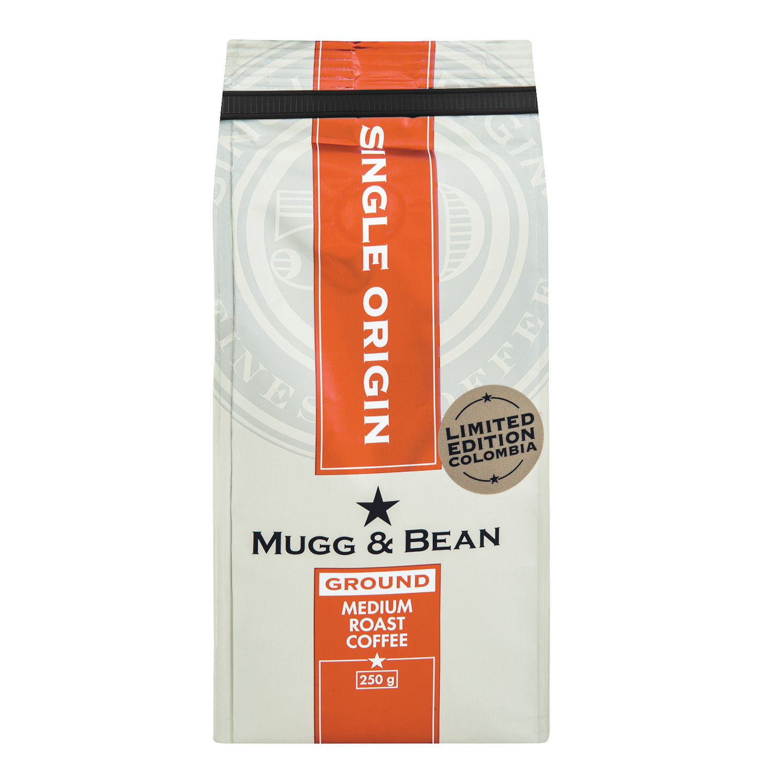 Mugg & Bean Coffee Colombia (1 x 250g)