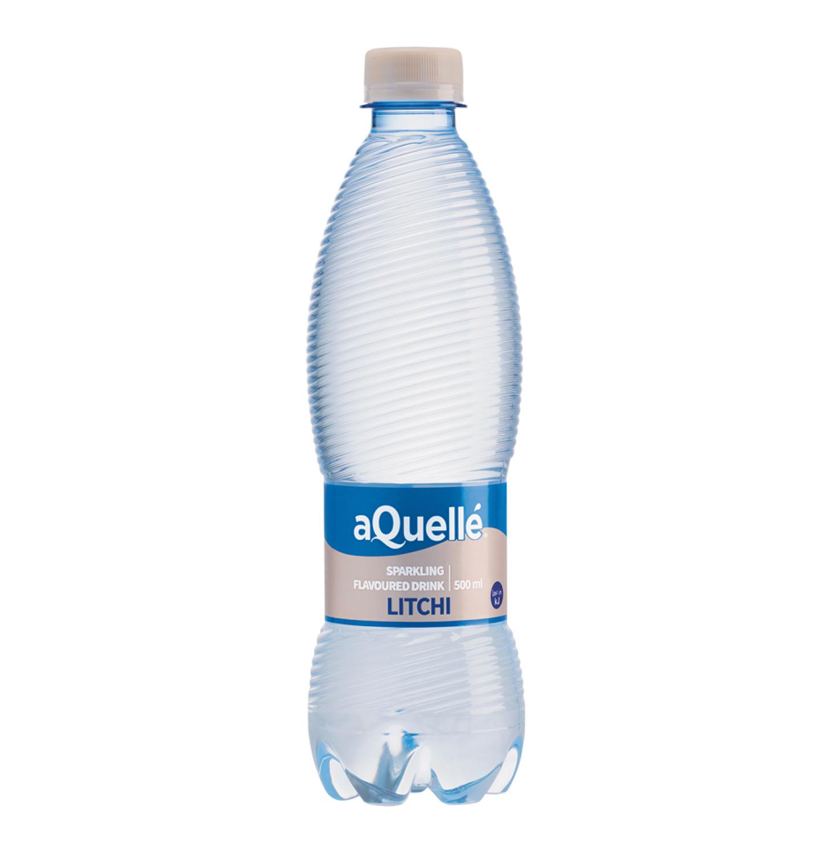 Aquelle Flavoured Sparkling Water Litchi (6 x 500ml)