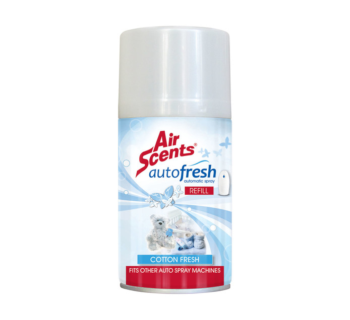 AIR SCENTS 250ml Airfreshener Automatic Spray