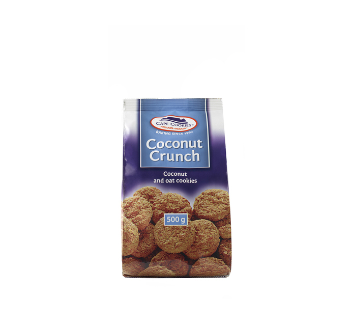 CAPE COOKIES COCONUT CRUNCH 500G