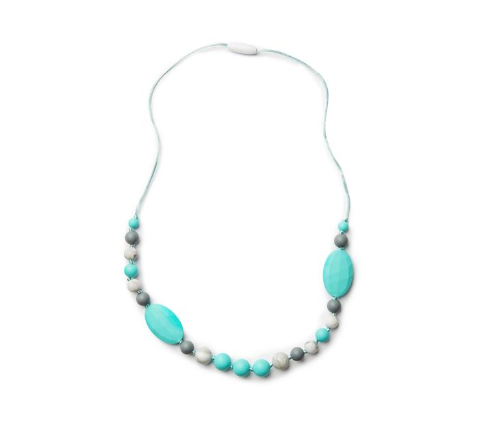 BABE-Eeze Silicone Teething Jewelry - Mixed Turquoise