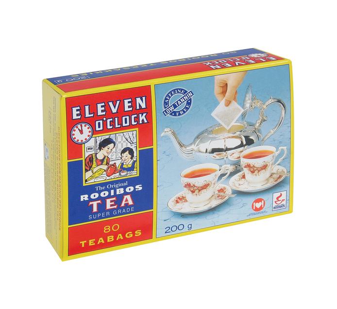 ELEVEN O'CLOCK Tagless Teabags (4 x 80's)