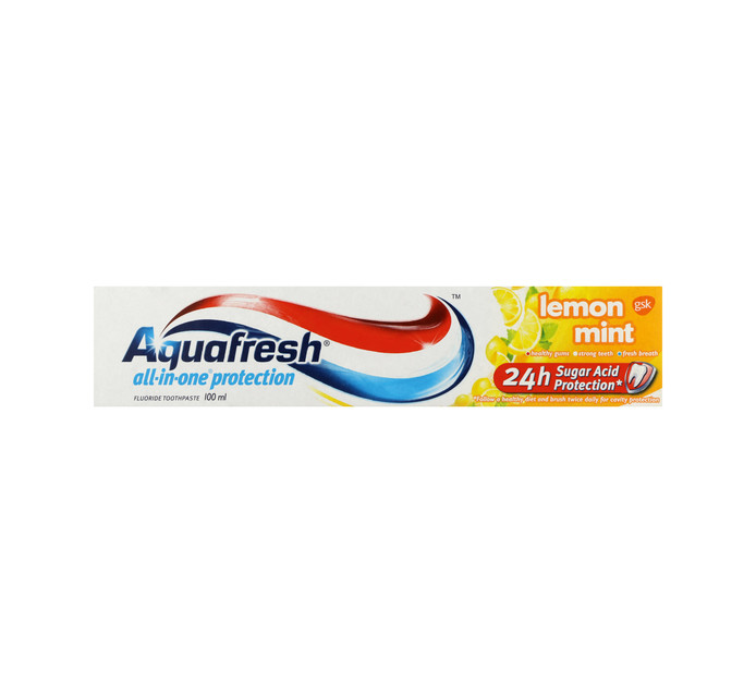 AQUAFRESH Toothpaste Lemonmint (1 x 100ML)