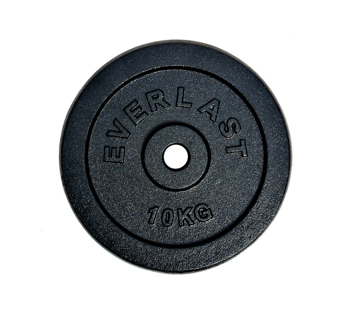 EVERLAST 10kg Round Barbell Disc