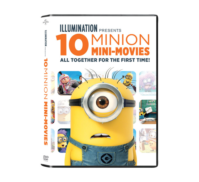 Mega Minions 10 Mini Movie Collection