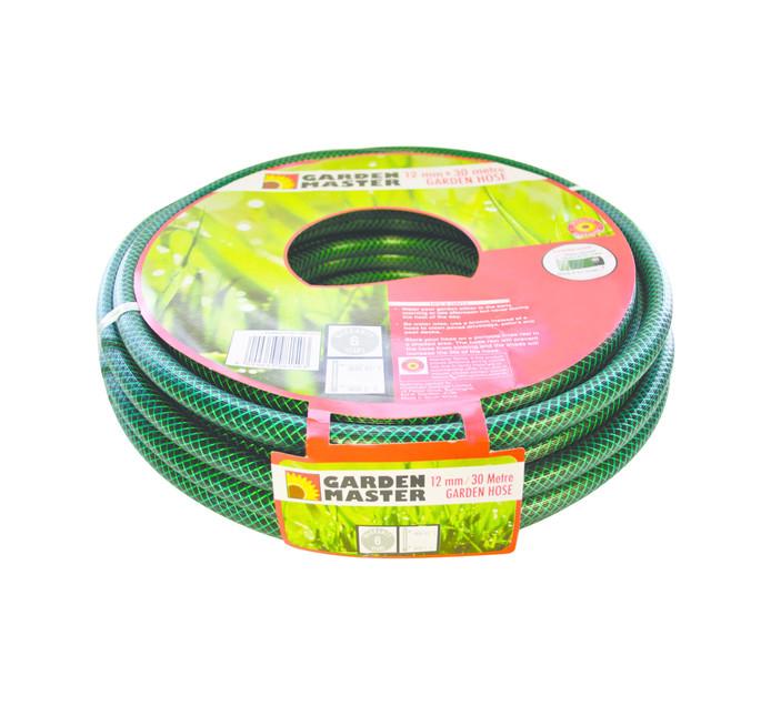 GARDENMASTER 30M x 12mm Hose Pipe Green