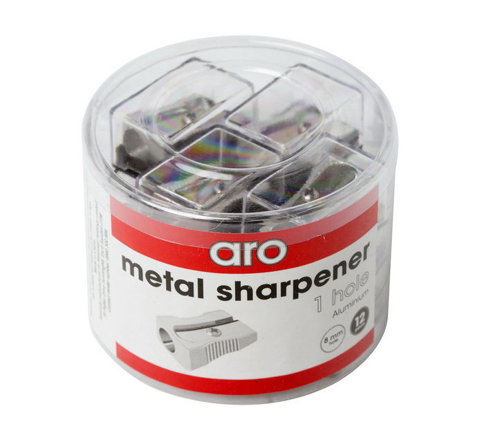 ARO Single Hole Metal Sharpener