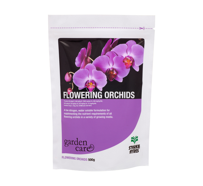 STARKE AYRES 500g Flowering Orchids Doy Pack