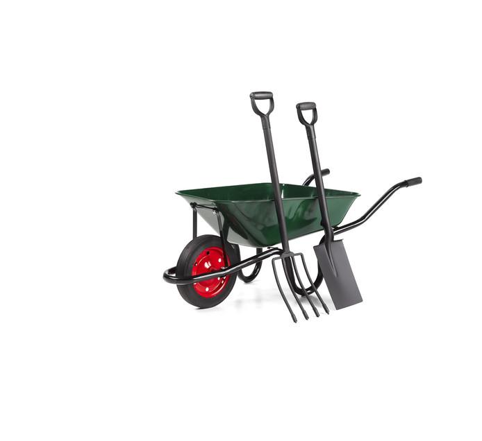 Green Wheelbarrow Combo