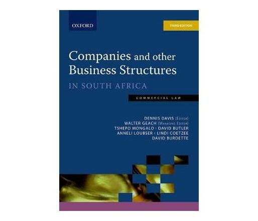 Companies & Other Business Structures 3e