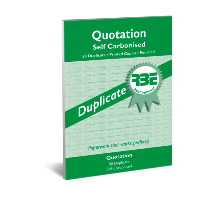 RBE A5 Quoation Duplicate