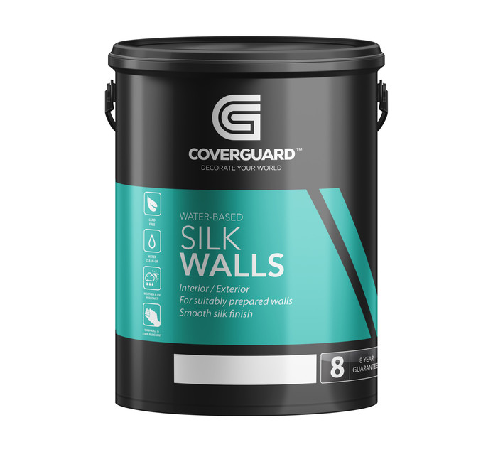 COVERGUARD SILK WALLS MED SHEEN 5L