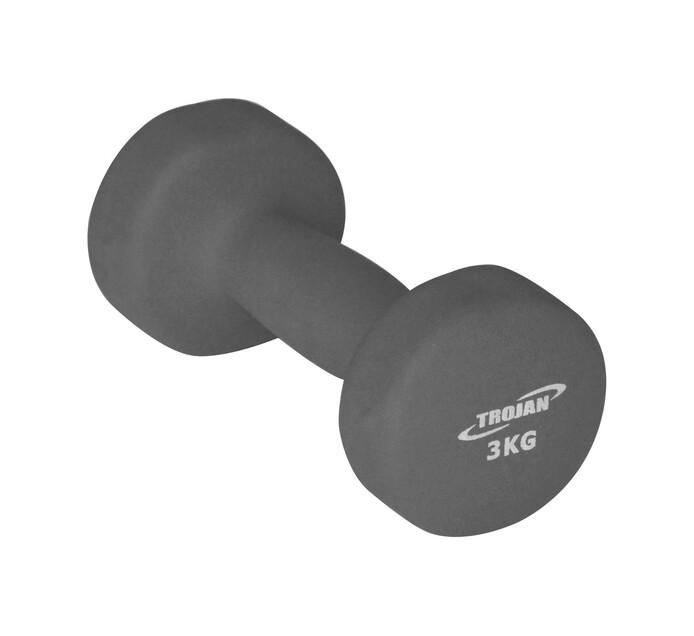 TROJAN 3kg Soft Touch Dumbell
