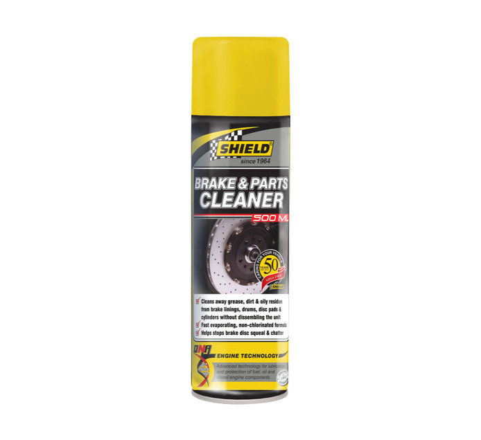 SHIELD 500 ml Brake And Parts cleaner