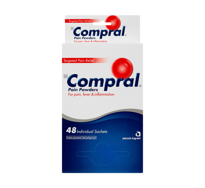 COMPRAL Pain Powders (1 x 48's)
