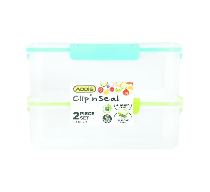 ADDIS 2.8 l 2 Piece Food Saver Set