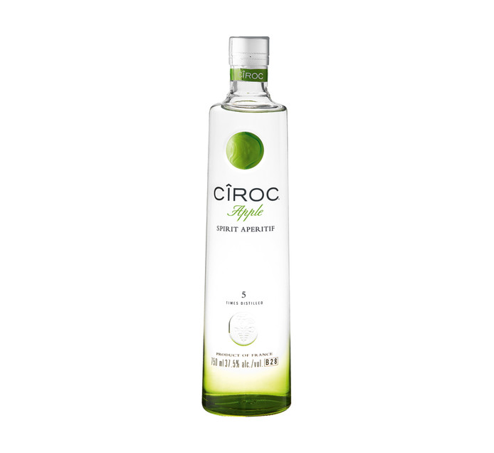 CIROC Apple Imported Vodka (1 x 750 ml)