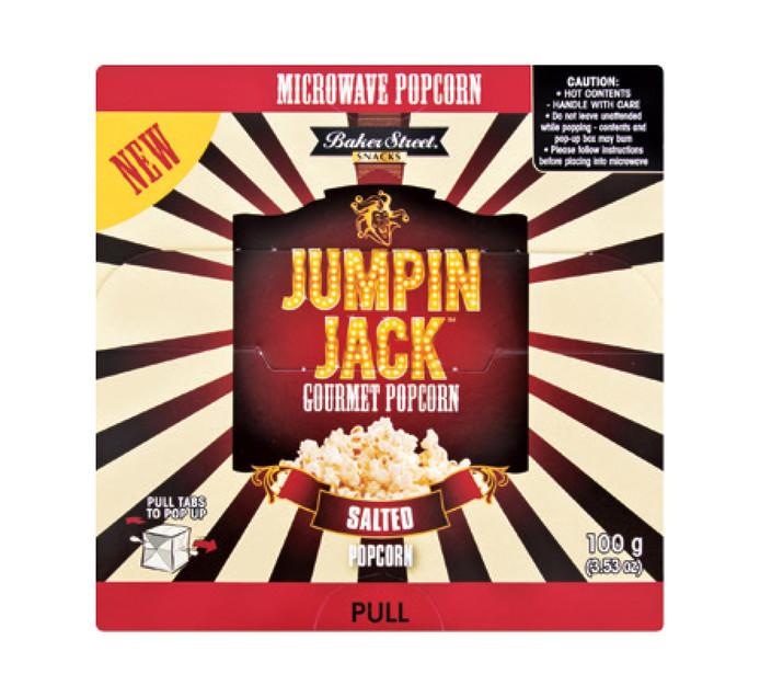 JUMPIN JACK 3 x 100G Microwave Popcorn