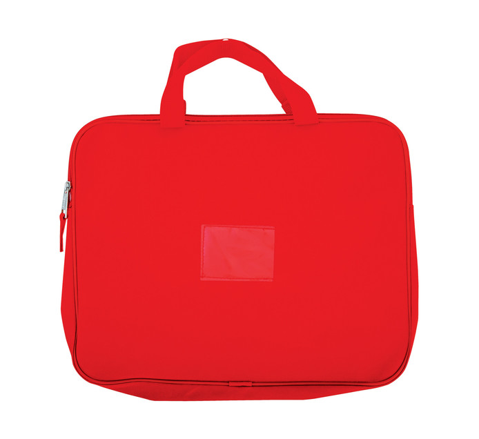 KENZEL A4 Book Bag With Handle Red Each