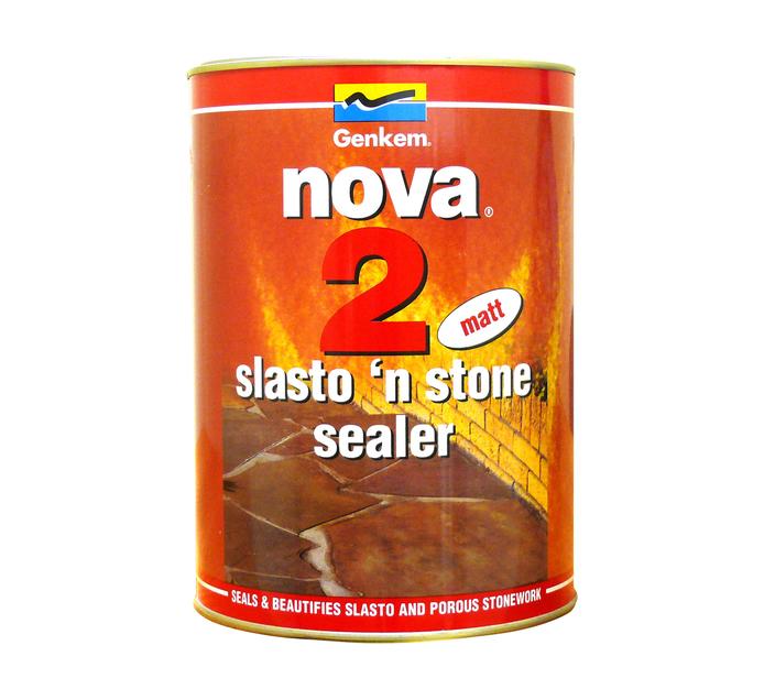 NOVA 2 SLASTO & STONE SEALER MATT 5L