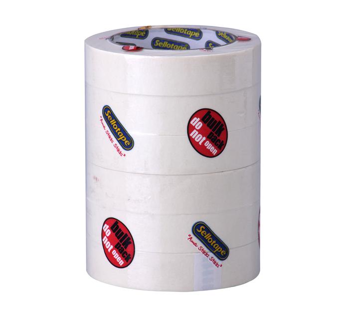 SELLOTAPE 6 Pack Masking Tape