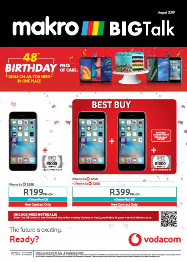 Expired specials for Prepaid Phones