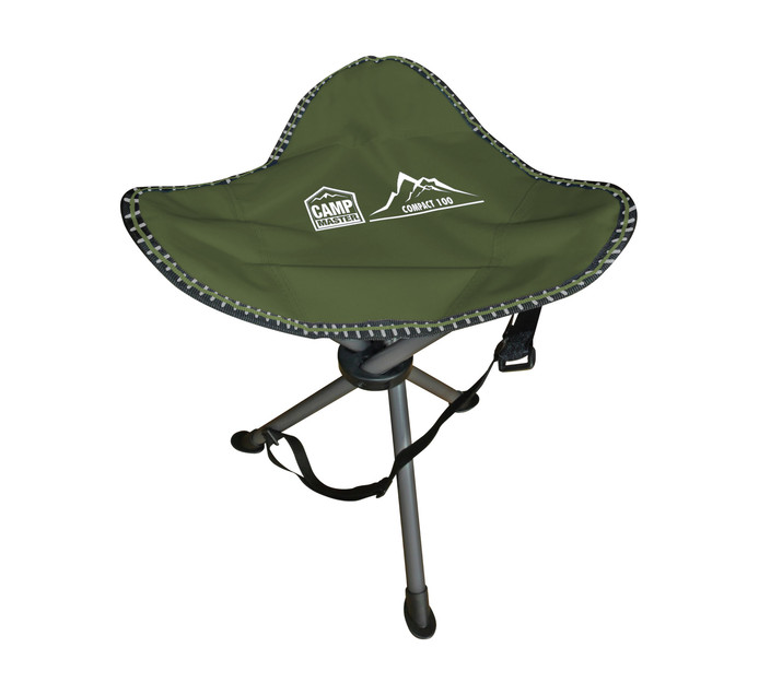 CAMPMASTER Compact Sports Tripod Chair