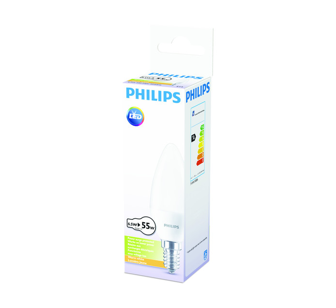 PHILIPS LED 6.5W CANDLE SES WW