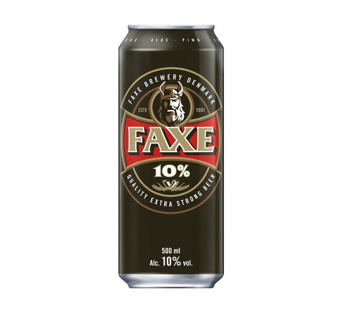 FAXE Extra Strong Beer Can (1 x 500ml)