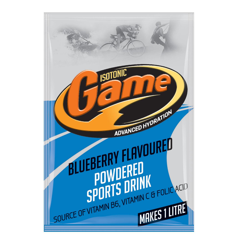 Game Sport Drink Power Sachet Blueberry (24 x 80g)