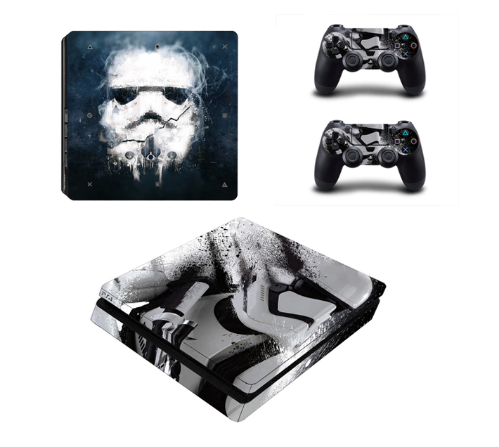 SKIN-NIT Decal Skin For PS4 Slim: Stormtrooper